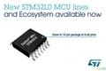 ST推出新款STM32L0系列微控制器和开发系统