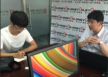 人民网记者就拆迁问题采访京云拆迁维权律师团王兴华律师