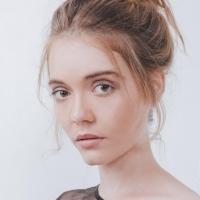 清纯性感外籍女模特Morgana