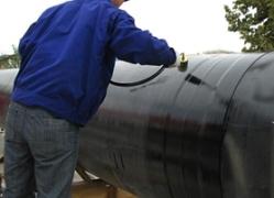 燃气管线热收缩套施工