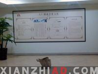 海南公司高精度写真过KT板裱高档相框