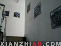 海口办公室PVC板写真画制作安装