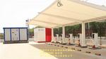 新能源汽车充电桩膜结构雨棚