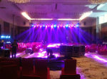 北京LED灯光音响租赁舞台背景板搭建
