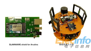 SLAMWARE shield for Arudino与智能机器人小车