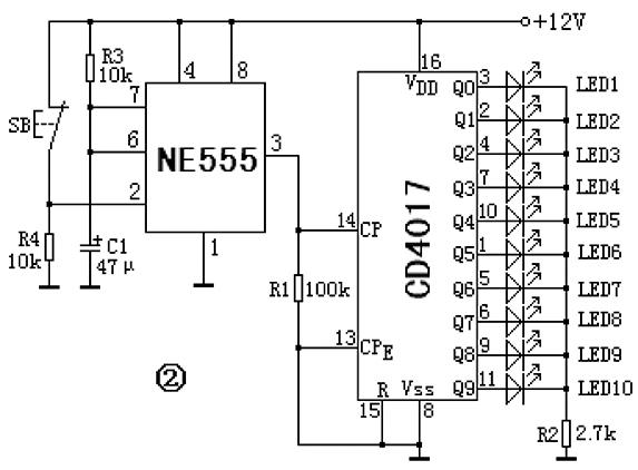电容器c1经电阻r3充电,这标志着单稳态延时开始.