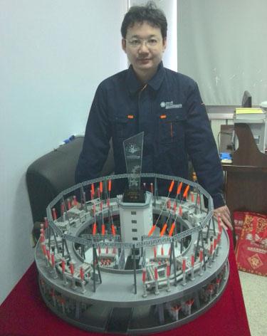 3D创意、创新环形变电站结构布置